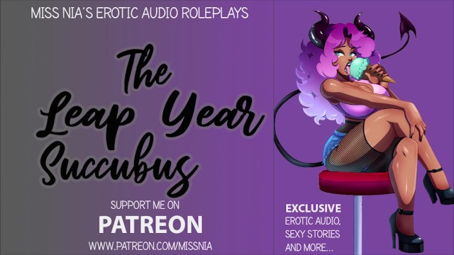 Erotic hypnosis geosite - The leap year succubus asmr/erotic roleplay