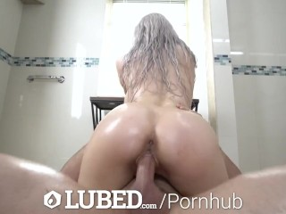 LUBED Sexual Aggravation with Huge Tit Tease Skylar Vox