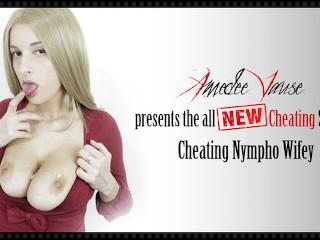 Cheating nympho wifey handjob blowjob cheating...