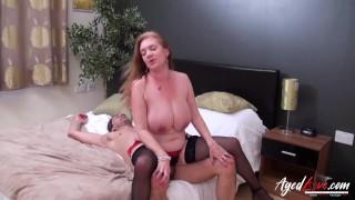 AgedLovE British Mature Hardcore Fucking Video