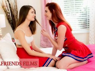 GirlfriendsFilms – Lacy Lennon Scissors Cheerleader Teammate