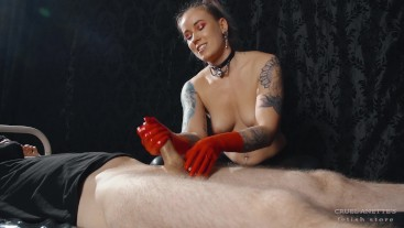Succumb to the pleasure - Mistress Anette - Minnie Manga - Handjob