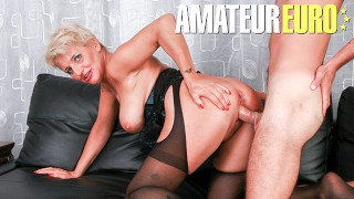Scambisti Maturi - Big Tits Cougar Assfucked by new Son in Law