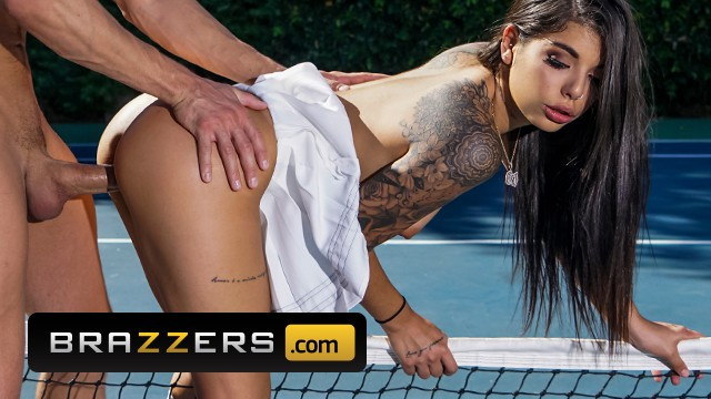 Tennis fuck Brazzers - inked gina valentina gets fucked on the tennis court