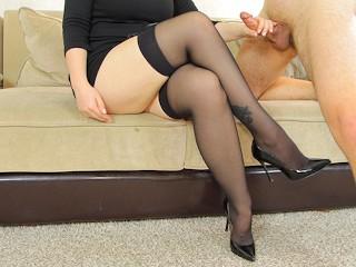 Stockings student...