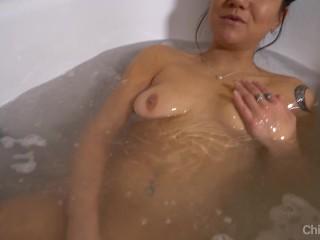 Girls Masturbation Bath Time Reality