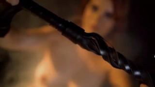 Black whip session