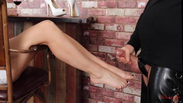 How to tell if he is a sexual preditor - Femdom cum eating cuckold slave can only cum if he eats it of goddess feet