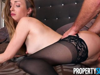PropertySex Maple Syrup Farmer Bangs Hot Real Estate Agent