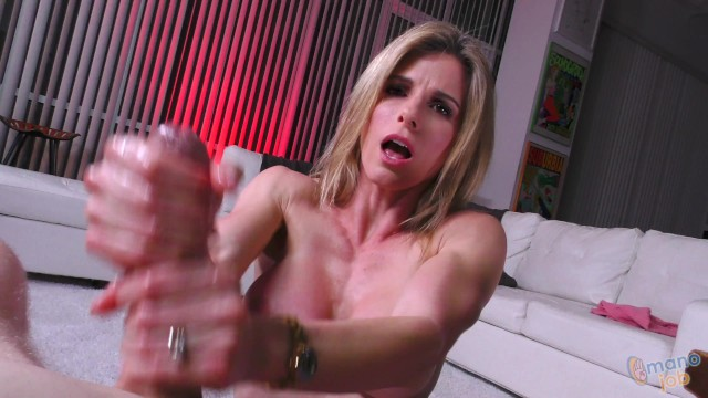Hand jobs and head jobs Hot milf cory cheats on husband with his son, but is a hand job cheating