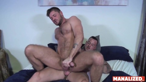 Hairy threesome men rough bareback breeding pornhub Bearded Mature Barebacked In Bear Threesome Pornhub Com