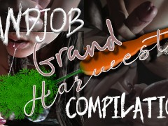 Handjob Compilation From GrandHarwest