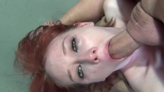 Homemade Rough and Hard Deepthroat Blowjob Practice with a Big Dick Guy
