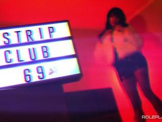 Strip club slutty dancing tech noir retro synth...