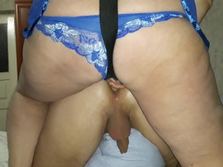 can a girl be giving a blowjob