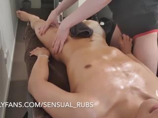 Japanese erotic massage with feet rubs
