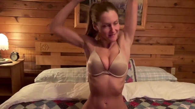 Forest cabin sex video