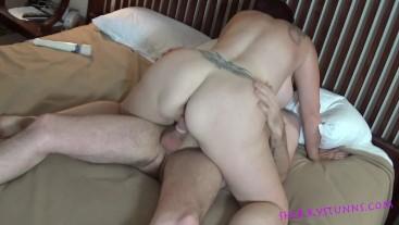 Cum on My Big Tits! Sherry Stunns Fucks a Lucky Fan