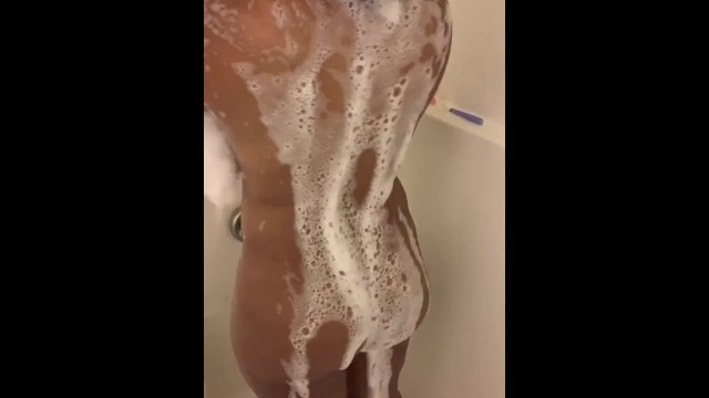 Caught her taking a shower 6