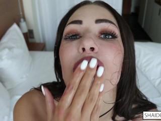 ANGELS THROAT – Tough Self Face Bang – Cum Countdown – Large Facial Explosion