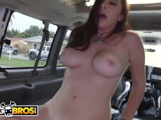 BANGBROS – Young, Busty Brunette Karlee Grey Taking Dick From Jmac