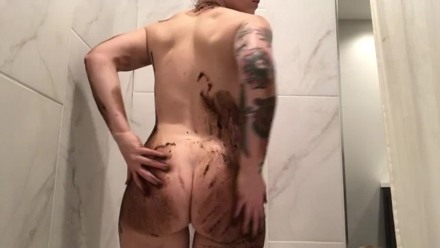 Coffee Scrub before Bathtime 3