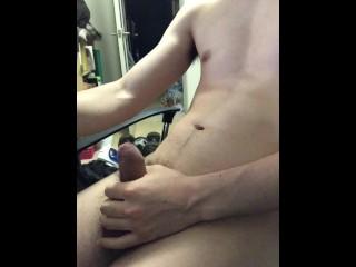 Japanese boy guy masterbation in his room...