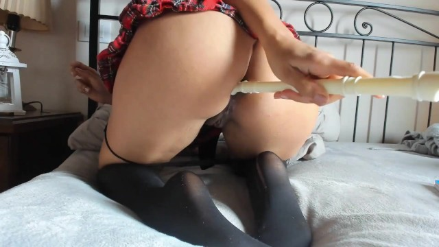 Philadelphia vintage instruments - Slutty italian student fucks her wet pussy and ass with musical instrument