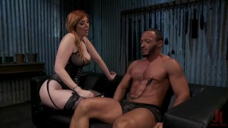 Kinky Couple Explore FemDom Punishment with Lauren Phillips & Dillon Diaz