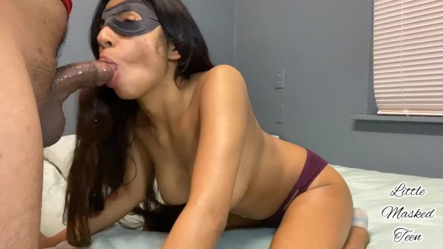 Petite Teen Next Door Sucks Her Way To A Double Cumshot! 12