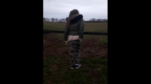 Adult medicine of countryside - Teen flashes in the countryside