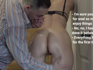 She had no idea that her anal was...