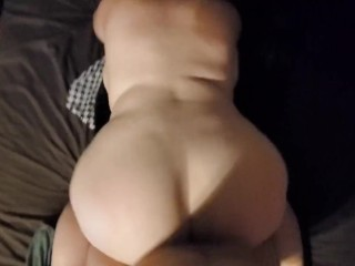 Big bootylicious rocked the bed and got spanked for it!