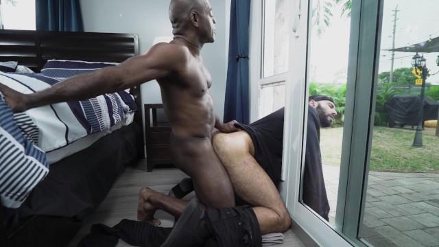 Gay house invador gets fucked Gaywire Home Invader Rikk York Bangs Aaron Trainer Pornhub Com