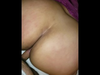 Milf moans loud and rough doggystyle...