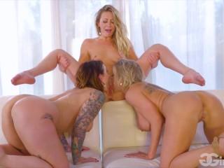 GirlGirl - First Time Home Buyer - Dee Williams, Adira Allure, Ivy Lebelle