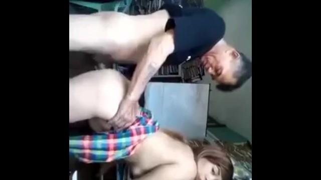 Tiny Latino babe sucks and fucks big cock! 11