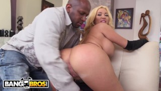 Screen Capture of Video Titled: BANGBROS - Hot MILF Summer Brielle Stuffed With BBC, Loves Every Minute