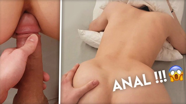 Anal POV in the bedroom, I finally put my cock in her ass!