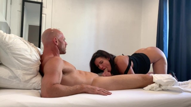 Johnny Sins - Step Mom Helps Son Make Bed and Fucks Him in it! 7