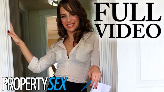 Com real voyeur - Propertysex insanely attractive real estate agent bangs her client