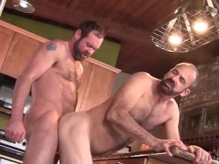 Hot raw kitchen...
