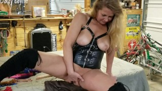 Mature Ameture Squirts and Licks her Cum