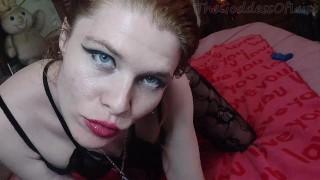 Redhead goth anal creampie baddragon - TheGoddessOfLust