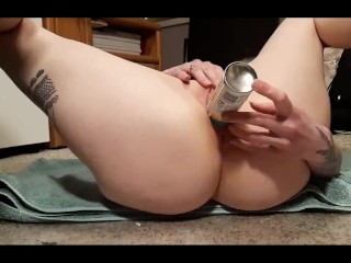 Stretching This Tight Pussy