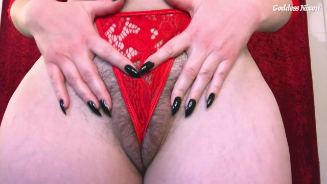 Sophia bushes boobs - Think less, jerk more - femdom joi encouragement hairy pussy natural boobs