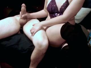 Prostate milking tease orgasm cumshot with anal toy...