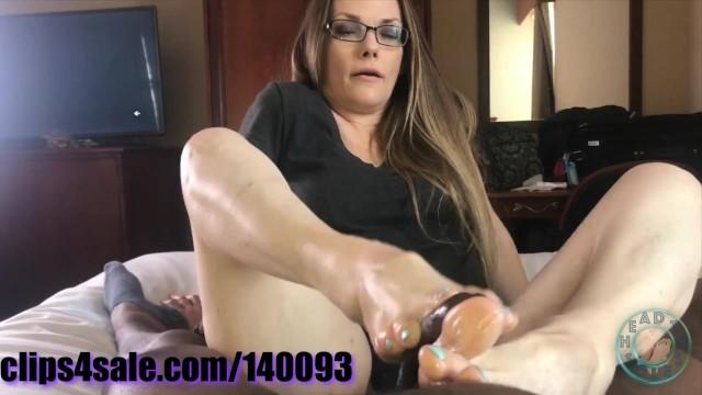 Holy fuck wav - Ms milkie way footjob compilation