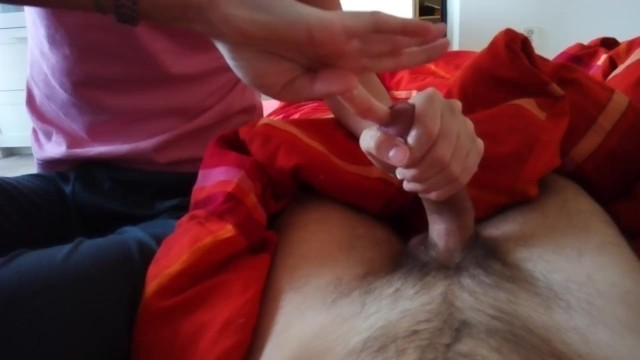 Burning pain penis - I will destroy your penis with my finger, painful cbt handjob