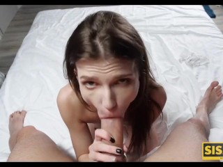 SIS.PORN. Guy and stepsis desire to have sex is stronger than shame